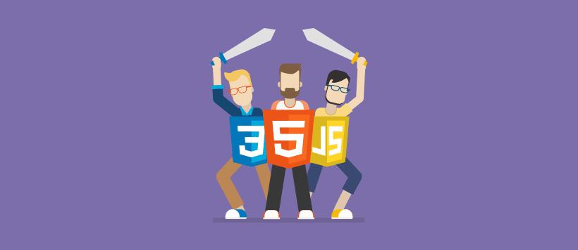 logos of html-css-javascript