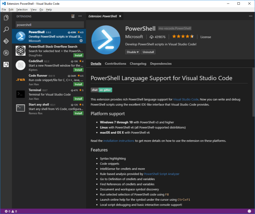How to use PowerShell with Visual Studio Code like a Pro