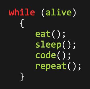 meme code sleep