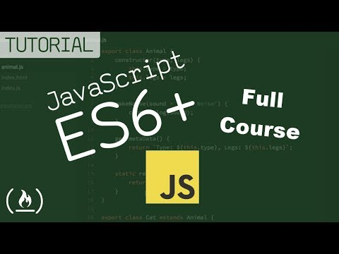 JavaScript ES6, ES7, ES8