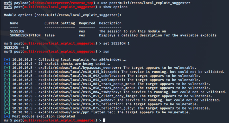 local-exploit-suggestor