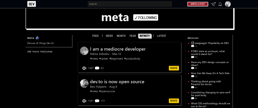 Cover image for Previewing dev.to's Upcoming Night Mode