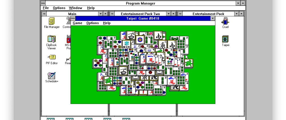 Cover image for Windows 3.1, a walk down memory lane