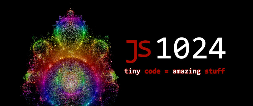 Cover image for JS1024 started! Javascript & GLSL competition