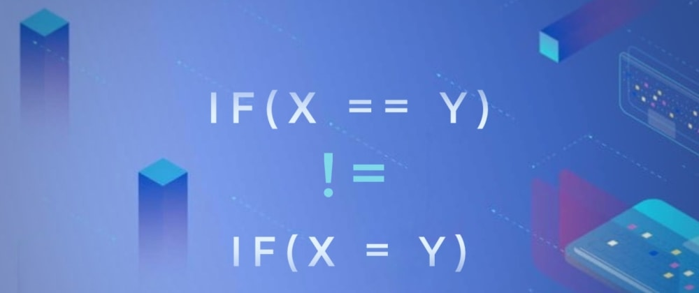 Cover image for Know more about if(x=y)