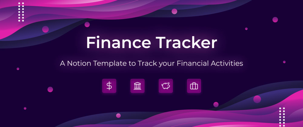 Cover Image for Manage your Finances 💰with this notion template