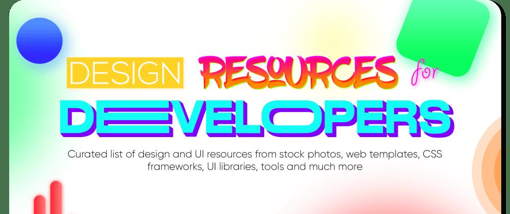 Cover image for unlimited resources for developer designer engineer