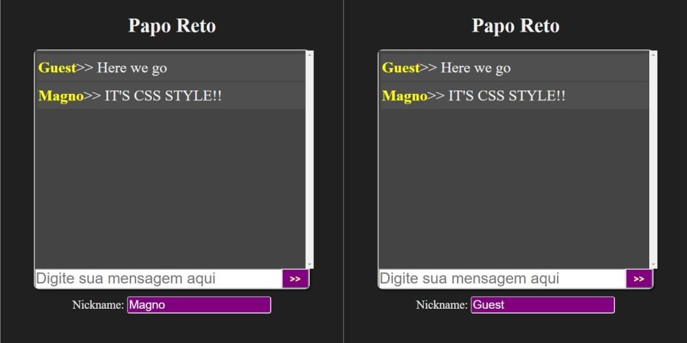 Building a simple WebChat