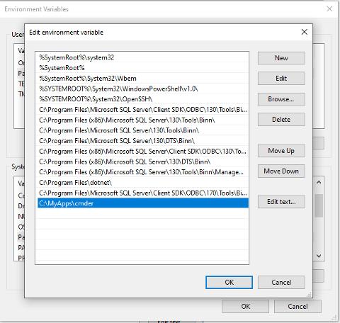 "Alt ""Path environment variable setup"""