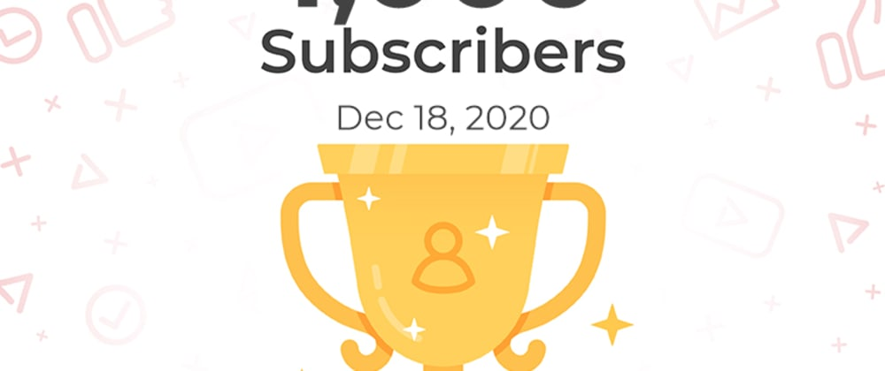 Cover image for CoderDave: 1000 Subscribers thanks to YOU!