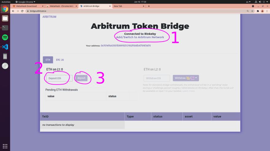Arbitrum Bridge