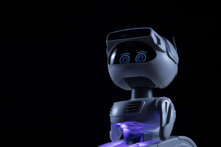 Misty robot look