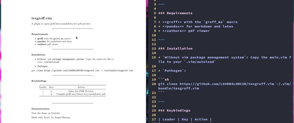 Vim to the rescue: PDF Preview