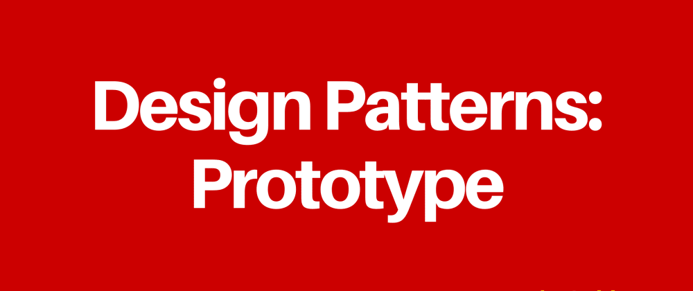 Cover image for Design Patterns: Prototype
