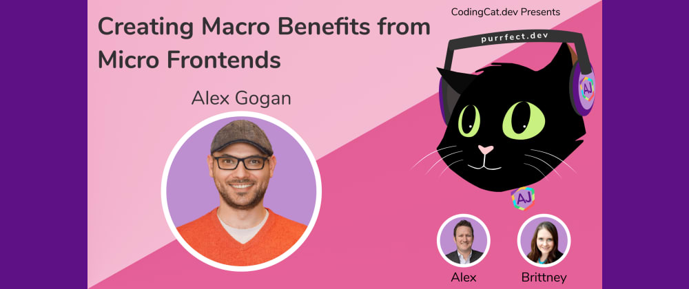Cover image for 1.25 - Creating Macro benefits from Micro Frontends