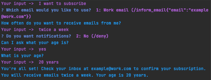 Chat can ask age