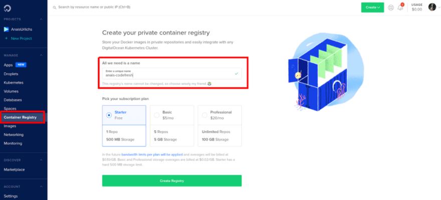 container-registry-ui