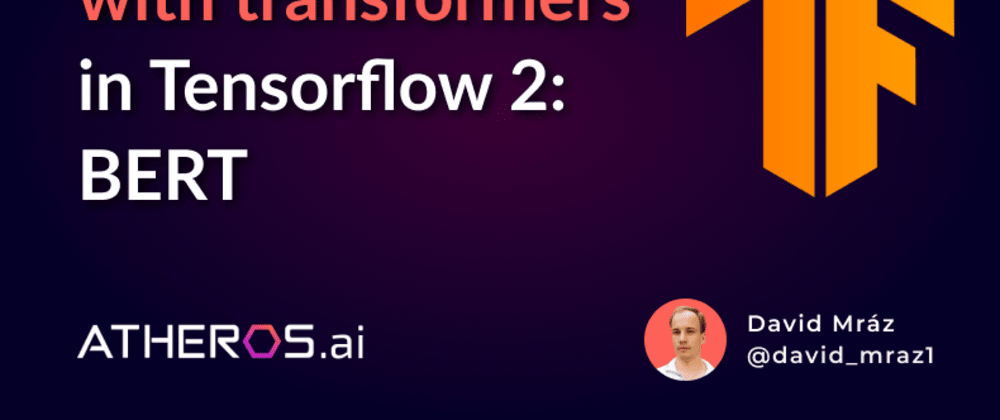 Cover image for Text classification with transformers in Tensorflow 2: BERT, XLNet