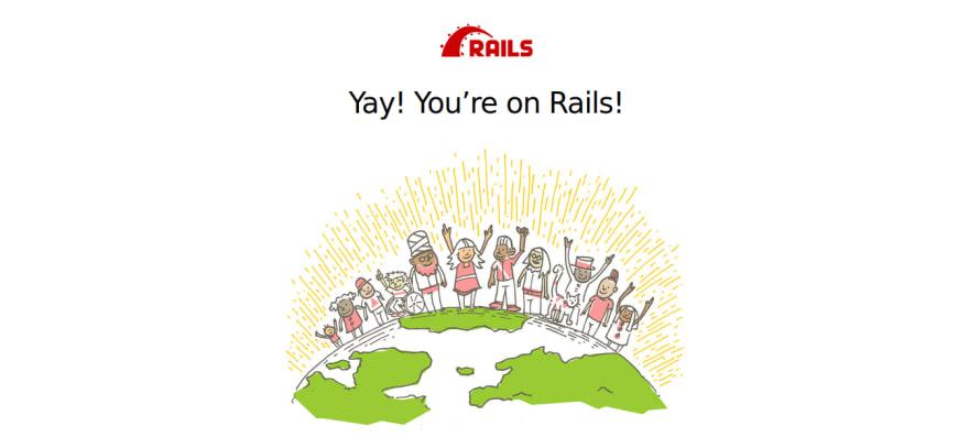imagem inicial rails