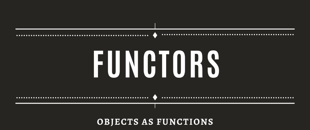 Cover image for Functors! Not functions