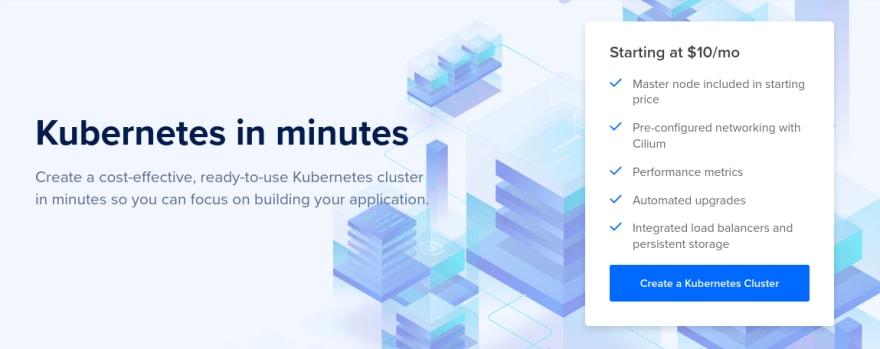 Create kubernetes clúster on DigitalOcean