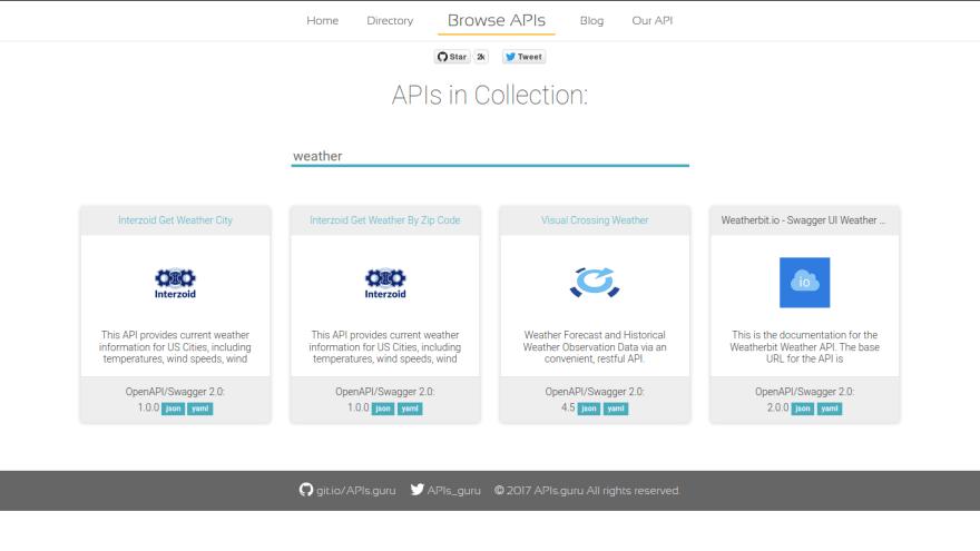APIs.guru OpenAPI-Directory