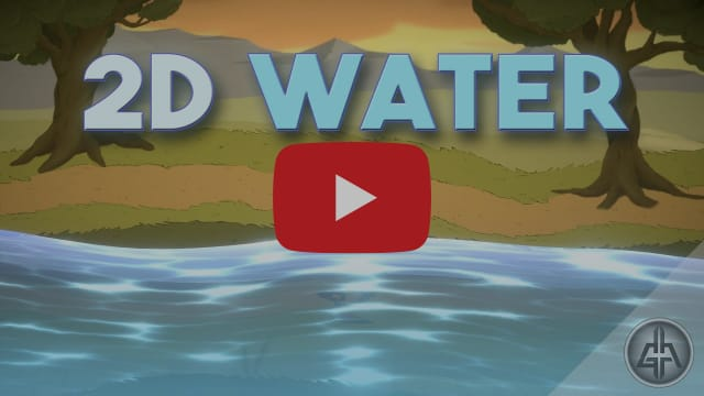 Unity 2D - Water Shader Tutorial