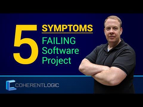 Five Symptoms Of A Failing Software Project