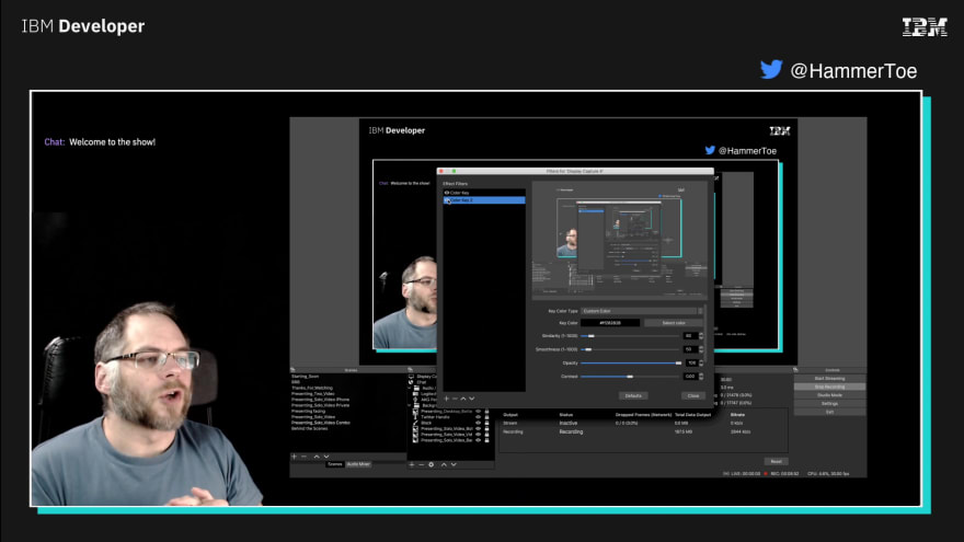 Setting a filter on OBS