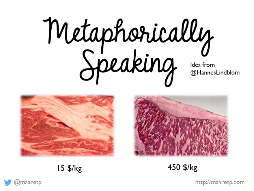 Comparing beef for value