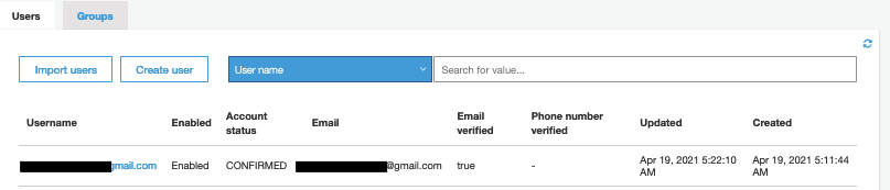 AWS Made Easy AWS Cognito User Pool confirmed user