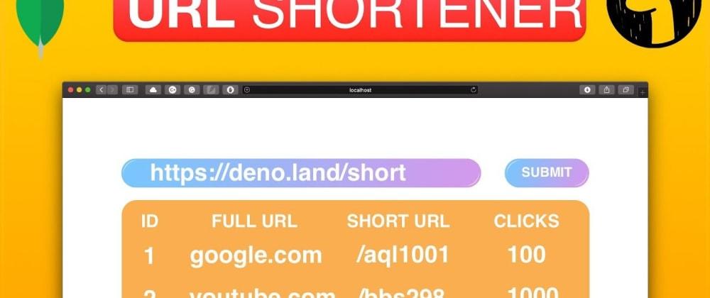 Cover image for Build URL Shortener Using Deno
