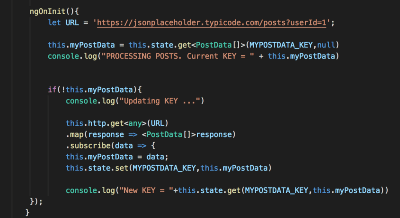 Transfer State Code