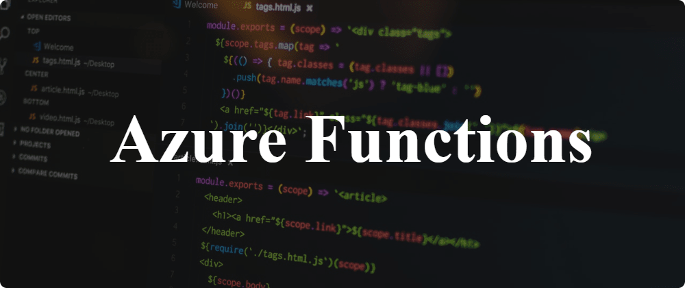 Cover image for Background processing in .NET Core: Azure Functions