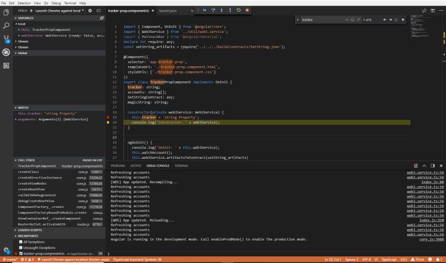 Debugging TypeScript Using VSCode and Chrome - DEV Community