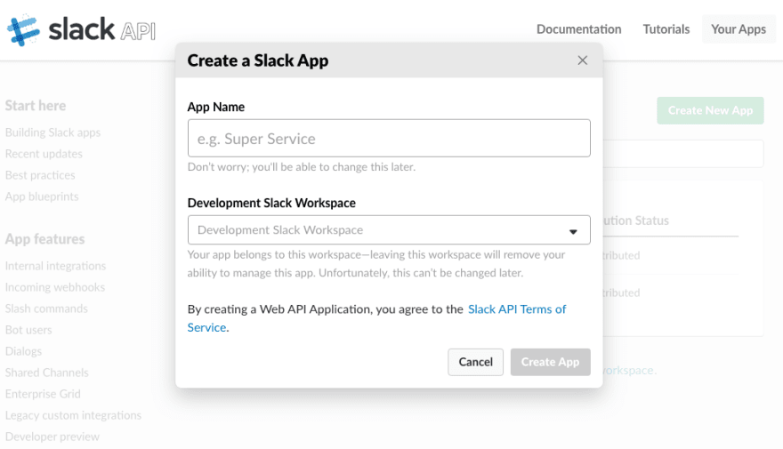 Using Slack and ChatOps to Create New Projects - DEV Community