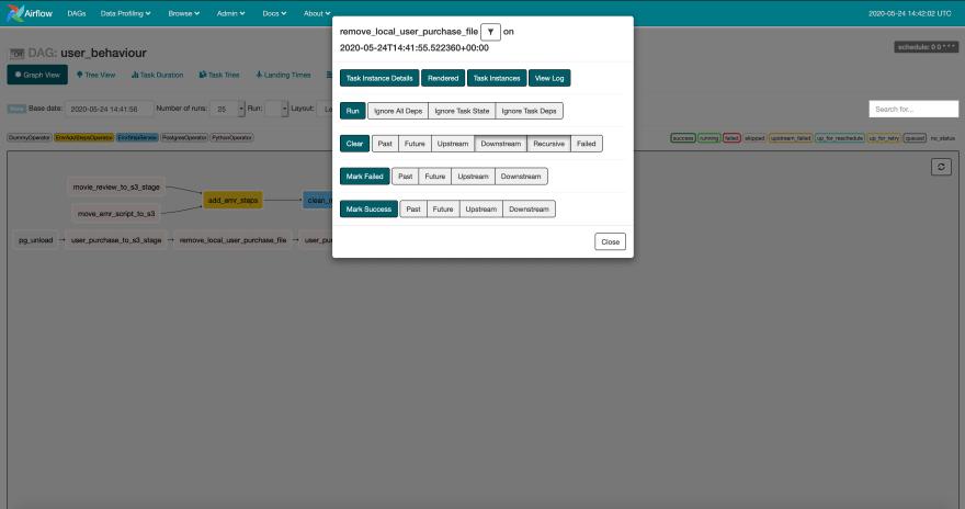 Airflow UI
