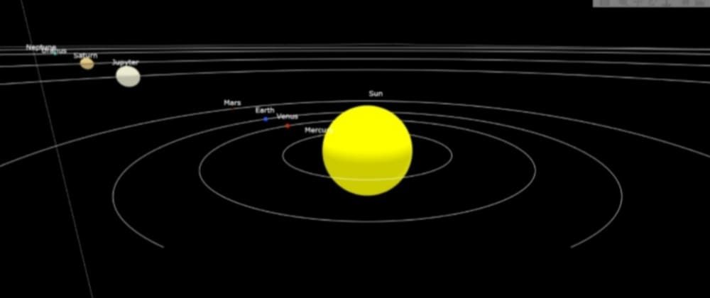 Cover image for Create Your Own Solar System Using Python
