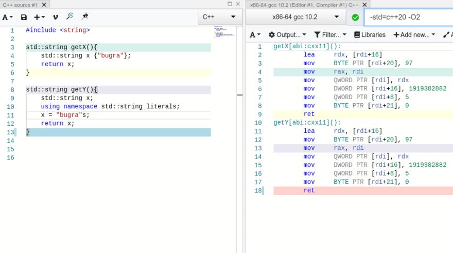 ASM code
