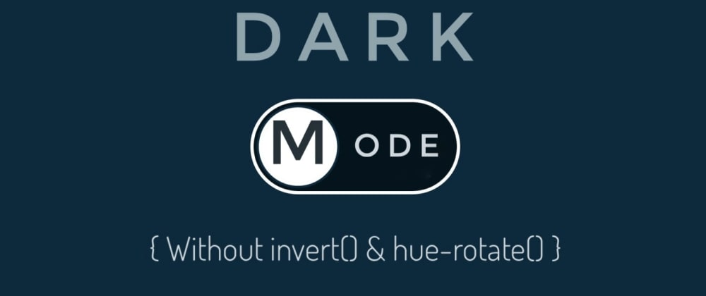 Cover image for Dark Mode in CSS Part-2