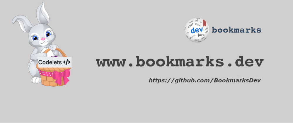 Cover image for Bookmarking code snippets with Codelets
