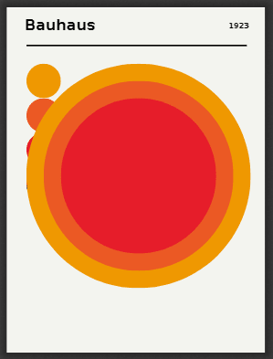The big circles added