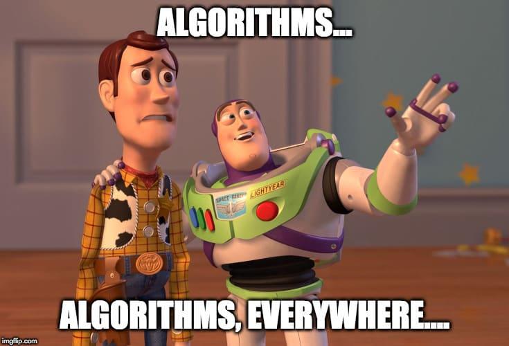 Algorithms everywhere