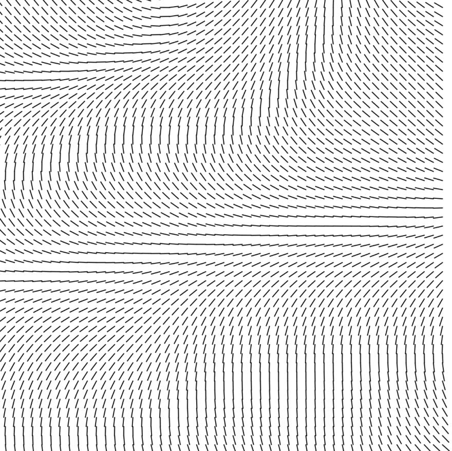 Perlin flow field