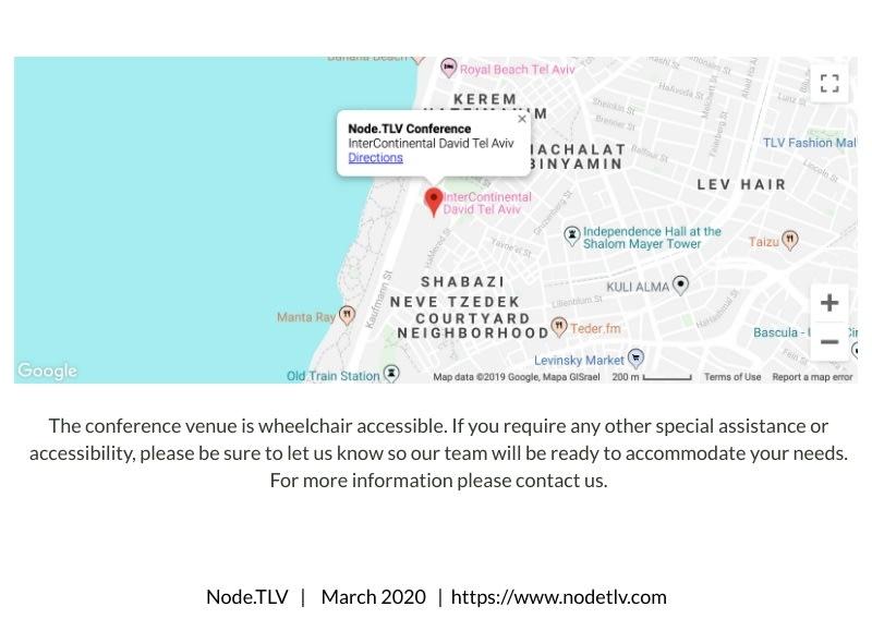 NodeTLV Israel Node.js conference