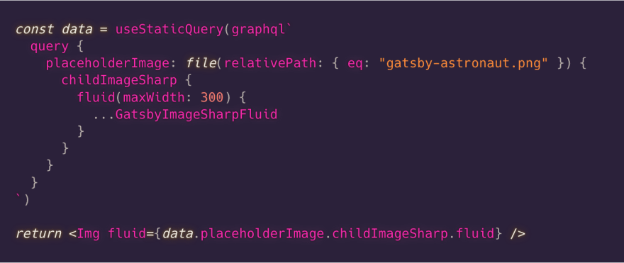 The GraphQL and component APIs merge seamlessly