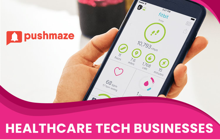 Push Notifications Usages in Healthcare Tech Businesses