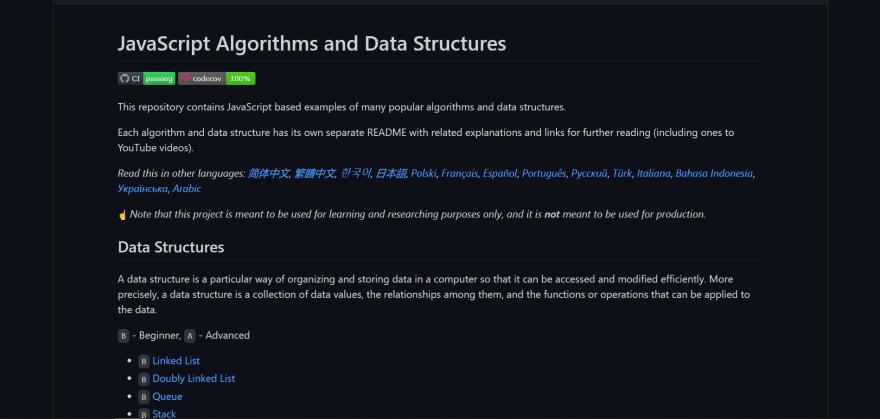 JavaScript Algorithms