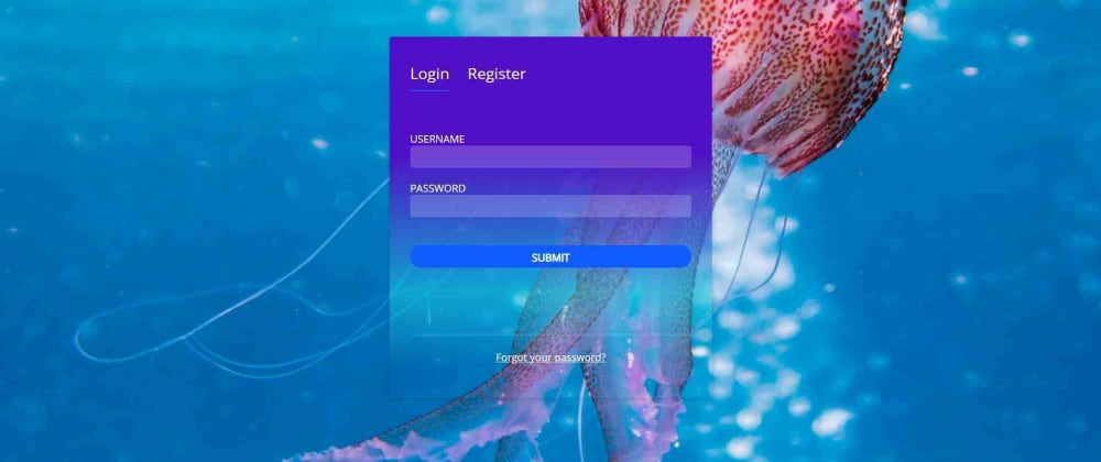 Cover image for How to create an animated login register web page with HTML, CSS, and javascript