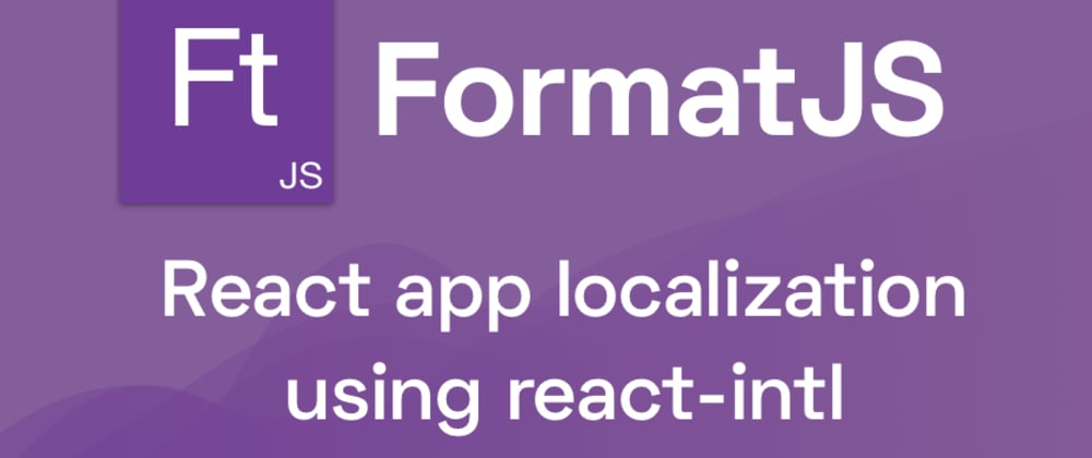 Cover image for ReactIntl and ReactJS interantionalization with SimpleLocalize.io
